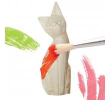 Dierenbeeldje Versieren Kat