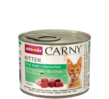 Animonda Carny Kitten Rund/Kip/Konijn 6 x 200 gr