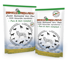 Farm Food Fresh Menu pens & hart compleet 125 gram