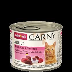 Animonda Carny Rund/Kalkoen/Garnaal 6 x 200 gr