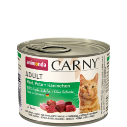 Animonda Carny Rund/Kalkoen/Konijn 6 x 200 gr