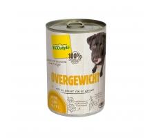 ECOstyle Hond Overgewicht 400 g blik