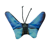 Wild Life Kat Blauwe Vlinder