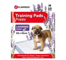 Flamingo Puppy Trainingsmat M 20 st Lavendel