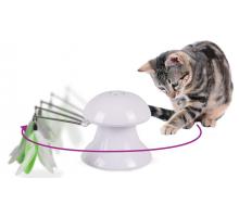 Flamingo Katten Laser Speelgoed met Veren 2 in 1