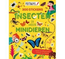 Feit en spel. Insecten en minidieren (300 stickers)