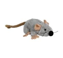 Trixie Kattenspeelgoed Pluche Muis met Catnip Grijs