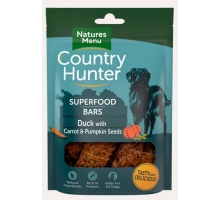 Natures Menu Country Hunter Superfood Bars Duck 100 gram