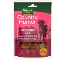 Natures Menu Country Hunter Superfood Bars Salmon 100 gram