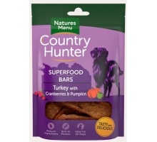 Natures Menu Country Hunter Superfood Bars Turkey 100 gram
