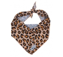 Bulltastic Koelbandana Leopard Orange