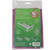 Boony Bio Kattenbakzak Lavendel L 10 st