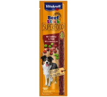 Vitakraft Beef Stick Superfood Cranberrys en Erwten