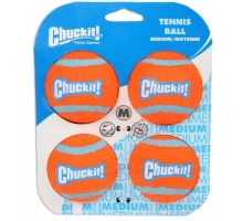Chuckit Tennis Ball Medium 6 cm 4 st