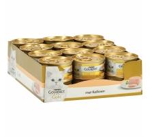 Gourmet Gold Mousse Kalkoen 24 x 85 gr