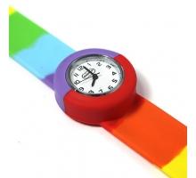 Popwatch Horloge Regenboog kleuren