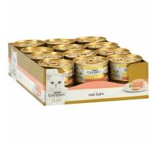 Gourmet Gold Mousse Zalm 24 x 85 gr