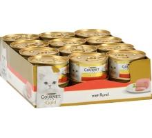 Gourmet Gold Mousse Rund 24 x 85 gr