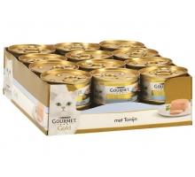 Gourmet Gold Mousse Tonijn 24 x 85 gr