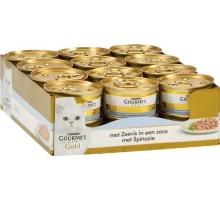 Gourmet Gold Luxe Mix Zeevis 24 x 85 gr