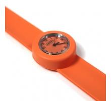 Popwatch Horloge oranje