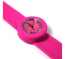 Popwatch Horloge donker roze