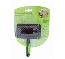 Hondenborstel Slicker Egelhaar Medium