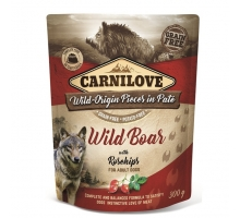 Carnilove Pouch Wild Boar with Rosehips 300 gram