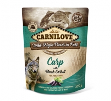 Carnilove Pouch Carp with Black Carrot 300 gram