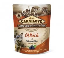 Carnilove Pouch Ostrich with Blackberries 300 gram