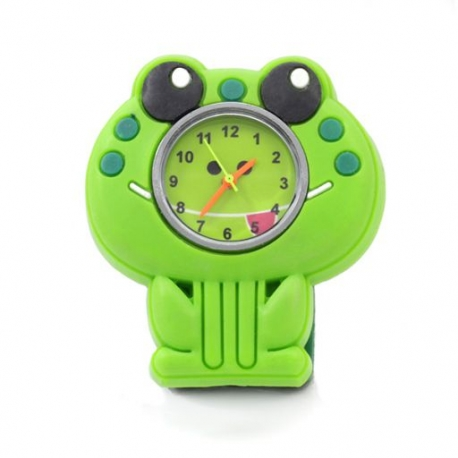 Popwatch Horloge Kikker