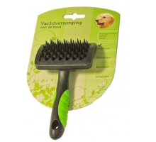 Hondenborstel Rubber Massage Small