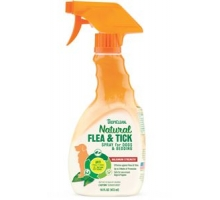 TropiClean Flea and Tick Pet Spray 473ml