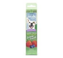 TropiClean Fresh Breath Clean Teeth OralCareGel Berry 59ml