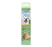 TropiClean Fresh Breath Peanut Butter OralCareGel Kit 59ml