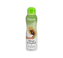 TropiClean Papaya and Coconut Shampoo 355ml