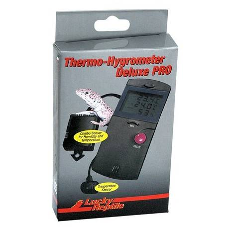Lucky Reptile Thermometer-Hygrometer Deluxe PRO