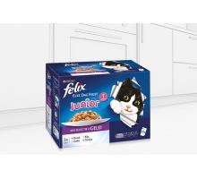 Felix Pouch Elke Dag Feest Kitten 12 x 100 gram