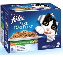Felix Pouch Elke Dag Feest Veggies 12 x 100 gram