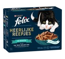 Felix Heerlijke Reepjes Vis Selectie 12 x 80 gram