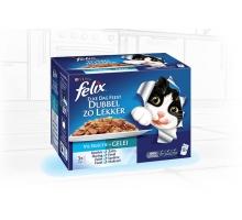Felix Double Delicious Vis 12 x 100 gram