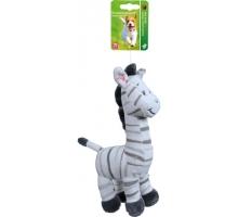 Boony Hondenspeelgoed Pluche Zebra 20 cm Zonder Geluid