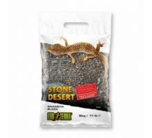 Exo Terra Stone Desert Substraat Bahariya Zwart 5 kg