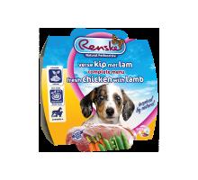 Renske Vers Puppy met Kip en Lam 125 gram