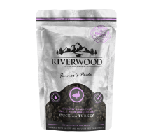 Riverwood Crunchy Snack Eend & Kalkoen 200 gr