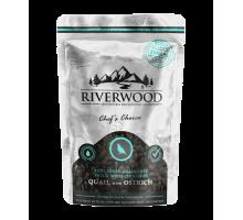 Riverwood Semi Moist Snack Kwartel & Struisvogel 200 gr