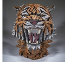 Edge Sculpture Bengaalse Tijger Buste