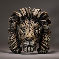 Edge Sculpture Savanne Leeuw Buste