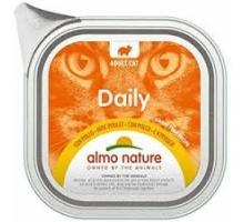 Almo Nature Daily Menu Alu met Kip 6 x 100 gr
