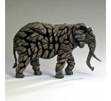 Edge Sculpture Olifant Mokka